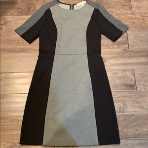 Loft color block dress
